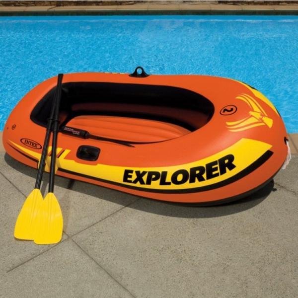 INTEX ゴムボート 2人乗り用ゴムボート ツーマンボート 大人1人 子供1人 2人用 オール付き ボート オール 185cm 海水浴 海 ビーチ mignonlindo 02