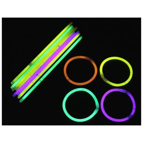 蛍光ブレスレット 蛍光スティック 光るブレスレット サイリウム 光りもの 光る おもちゃ パーティーグッズ イベントグッズ 1本から ハロウィン コン|mignonlindo|08