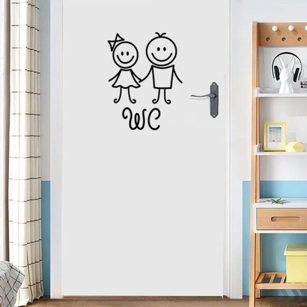ウォールステッカー ステッカー 壁シール インテリア 装飾 デコレーション 模様替え DIY トイレ 浴室 かわいい ウォールデコレーション 飾り付け