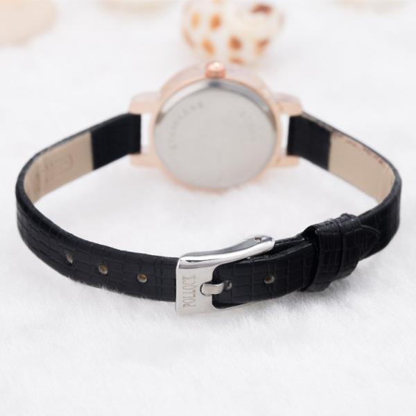腕時計 ウォッチ 女性 レディース フェイクレザー フェミニン 華奢 細身 シンプル エレガント ゴールド シルバー mignonlindo 19