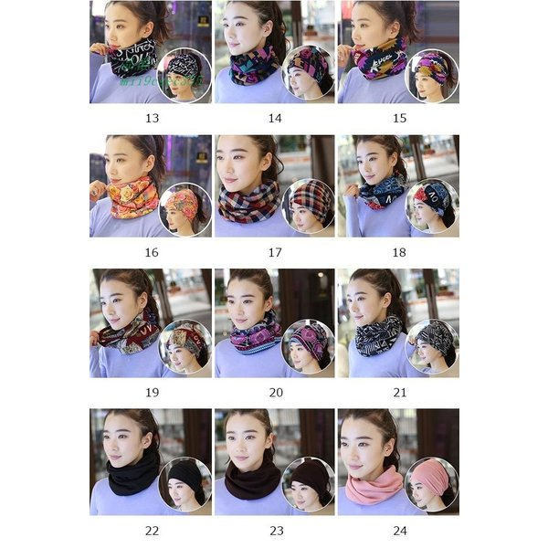 スヌード スカーフ マスク ニットマフラー 薄手 マフラー レディース 女性 ストール バンダナ 帽子 ネックウォーマー キャップ miistore 03