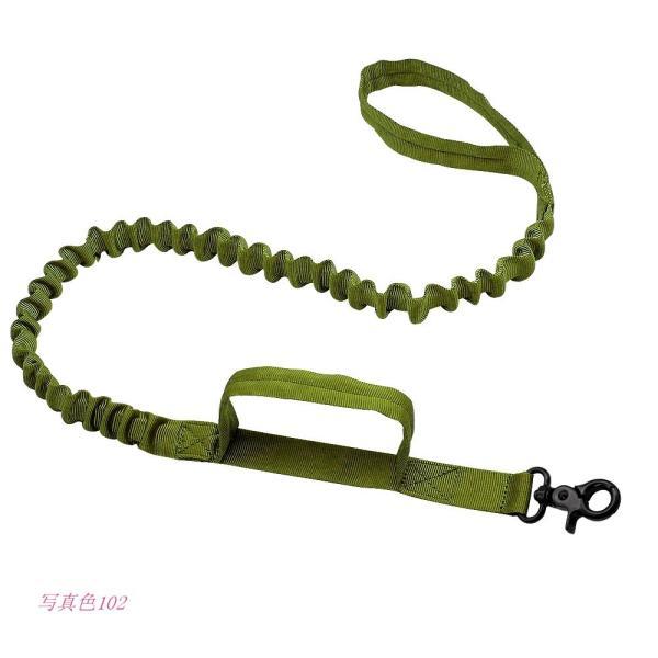 軍 戦術的な犬 鎖 ナイ ロン バンジーリーシュ ペット 軍事 リード ベル ト トレーニング ランニング 中 大型 犬 ジャーマンシェ パー ド グループ上 ホーム|miistore|08