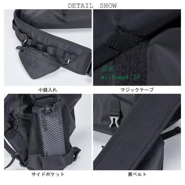 ボディバッグ ショルダーバッグ A4サイズ対応 カバン ウエストバッグ メンズ 大容量 お洒落 男女兼用 バッグ レディース 便利 ヒップバッグ|miistore|13