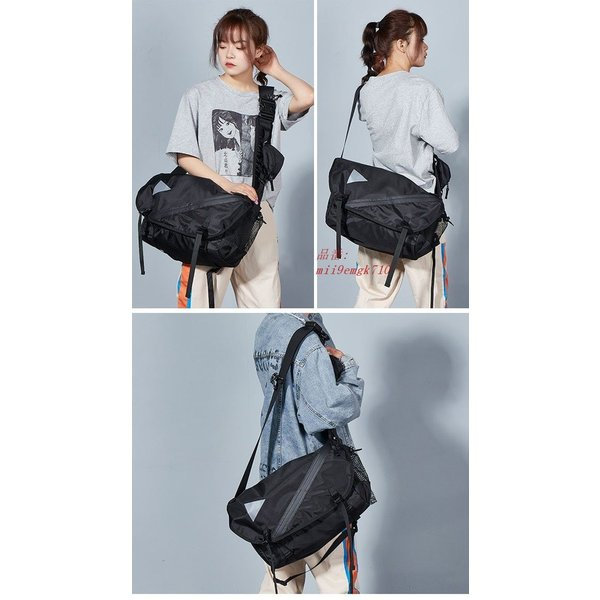 ボディバッグ ショルダーバッグ A4サイズ対応 カバン ウエストバッグ メンズ 大容量 お洒落 男女兼用 バッグ レディース 便利 ヒップバッグ|miistore|05
