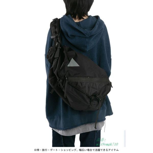 ボディバッグ ショルダーバッグ A4サイズ対応 カバン ウエストバッグ メンズ 大容量 お洒落 男女兼用 バッグ レディース 便利 ヒップバッグ|miistore|07