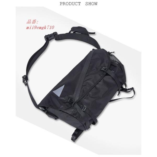 ボディバッグ ショルダーバッグ A4サイズ対応 カバン ウエストバッグ メンズ 大容量 お洒落 男女兼用 バッグ レディース 便利 ヒップバッグ|miistore|10