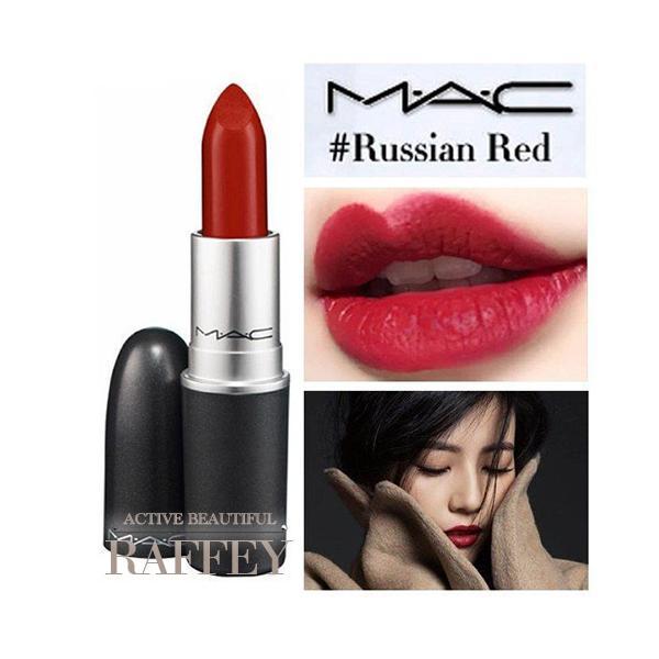 MAC RUSSIAN RED 612 ロシアンレッド M.A.C マック リップスティック マット 3g 口紅 ルージュ|mijirushi0606