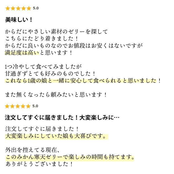 みかん 寒天ゼリー 人気の3種  送料無料 170g×3本 3セット購入で1本増量キャンペーン中|mikan-hana|04