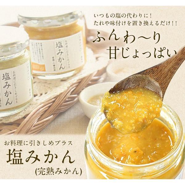 お料理に引きしめプラス調味料 塩みかん(完熟みかん) 容量:150g Mart掲載商品|mikan-hana