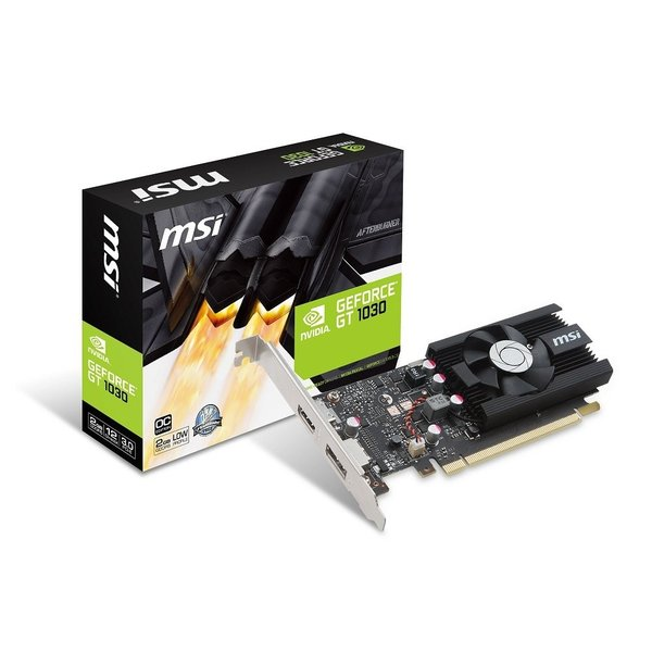 MSI GeForce GT 1030 2G LP OC グラフィックスボード VD6348|mikannnnnn|02