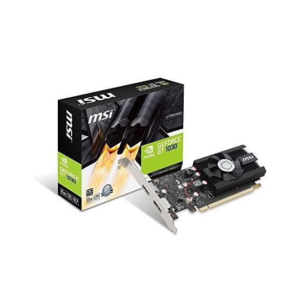 MSI GeForce GT 1030 2G LP OC グラフィックスボード VD6348|mikannnnnn|04