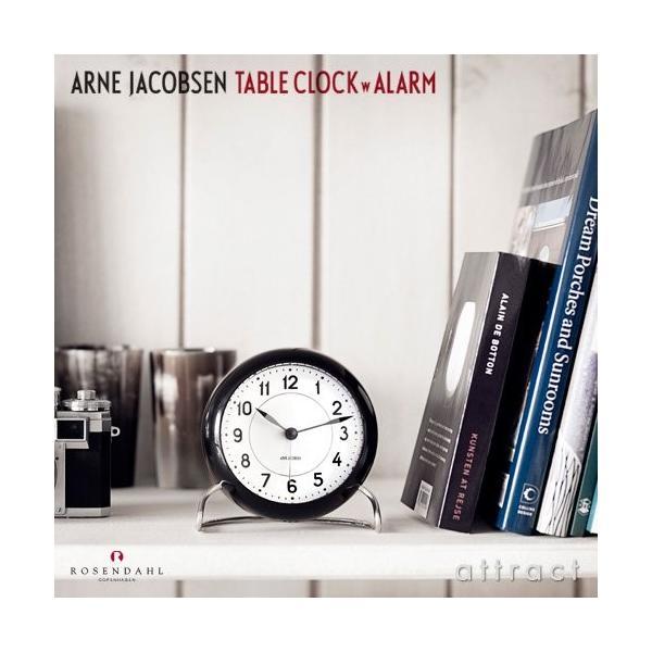 ROSENDAHL ローゼンダール Station ステーション Arne Jacobsen アルネ・ヤコブセン Table Clock テ|mikannnnnn|03