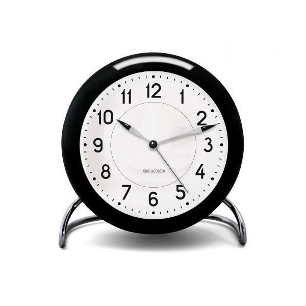 ROSENDAHL ローゼンダール Station ステーション Arne Jacobsen アルネ・ヤコブセン Table Clock テ|mikannnnnn|08