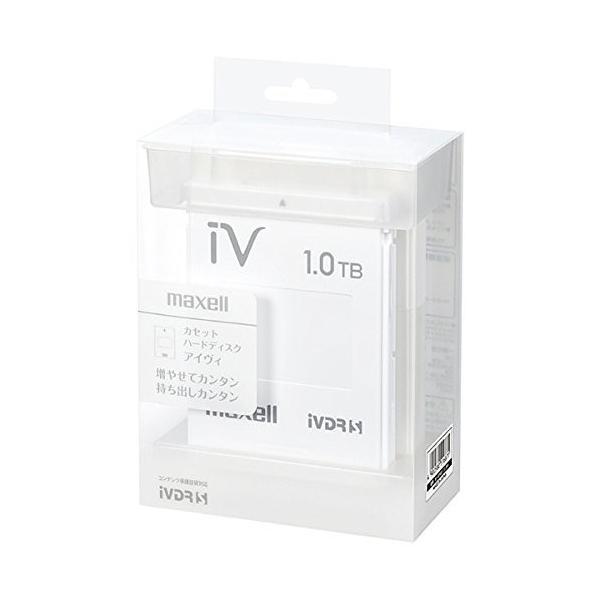 マクセル iVDR-S規格対応リムーバブル・ハードディスク 1.0TB(ホワイト)maxell カセットハードディスク「iV(アイヴィ)」 mikannnnnn
