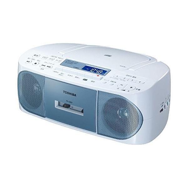 東芝 ラジカセ TY-CDS7(L)ブルー