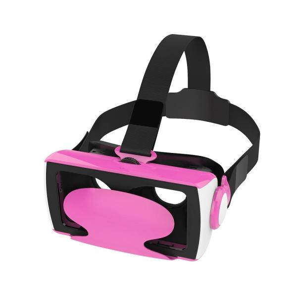 VRゴーグル iphone5/6/7 plus 4.5-6インチのスマホ対応 3Dメガネ 焦点距離調節 ゲームVR 大画面で超3D映像効果