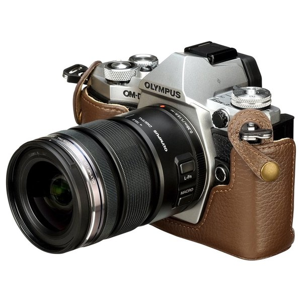 HAKUBA カメラ ケース本革ボディケース OLYMPUS OM-D E-M5 Mark?専用 ブラウン DBC-EM5M2BR