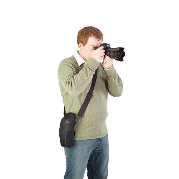 Lowepro デジタルカメラケース S&F クイックフレックスポーチ 75 AW レインカバー ブラック 362774