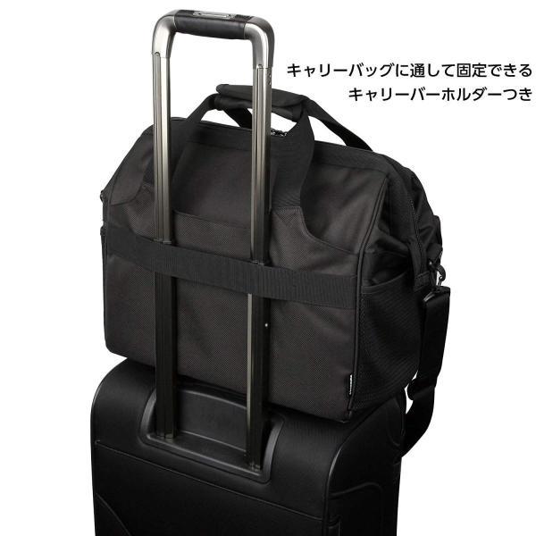 HAKUBA カメラバッグ ルフトデザイン スウィフト 03 ショルダーバッグ L 13.5L 大開口ガマぐち式 ブラック SLD-SW03|mikannnnnn