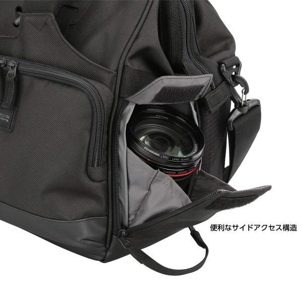 HAKUBA カメラバッグ ルフトデザイン スウィフト 03 ショルダーバッグ L 13.5L 大開口ガマぐち式 ブラック SLD-SW03|mikannnnnn|12