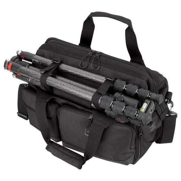HAKUBA カメラバッグ ルフトデザイン スウィフト 03 ショルダーバッグ L 13.5L 大開口ガマぐち式 ブラック SLD-SW03|mikannnnnn|05