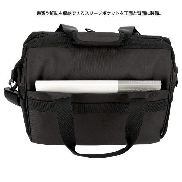 HAKUBA カメラバッグ ルフトデザイン スウィフト 03 ショルダーバッグ L 13.5L 大開口ガマぐち式 ブラック SLD-SW03|mikannnnnn|06