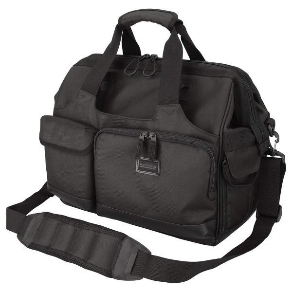 HAKUBA カメラバッグ ルフトデザイン スウィフト 03 ショルダーバッグ L 13.5L 大開口ガマぐち式 ブラック SLD-SW03|mikannnnnn|10