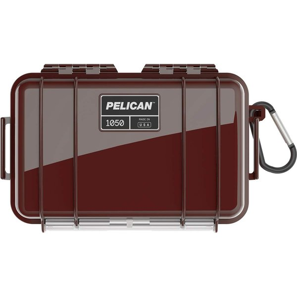 PELICAN(ペリカン) 小型防水ハードケース 1050HK 国際保護規格IP67認定 OXブラッド 1050HKOX