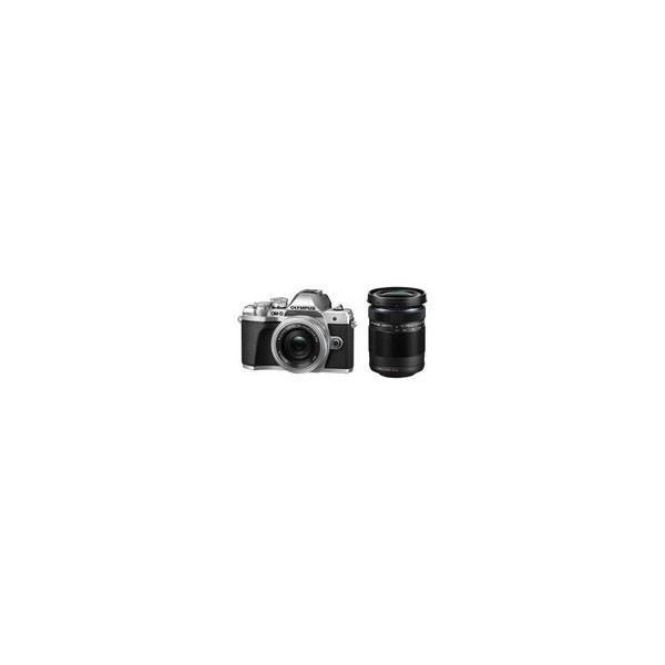【カメラポーチプレゼント】OLYMPUS[オリンパス] OM-D E-M10 Mark III EZ ダブルズームキット シルバー