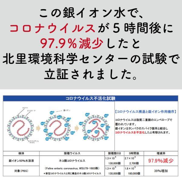 7月中旬より随時発送 AG CLEAN 銀イオン水 除菌 抗菌 消臭 スプレー|mikawaya-chana|02