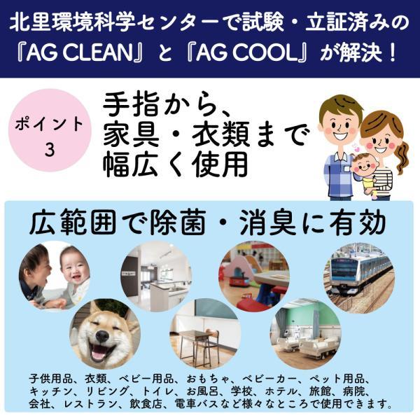 7月中旬より随時発送 AG CLEAN 銀イオン水 除菌 抗菌 消臭 スプレー|mikawaya-chana|06