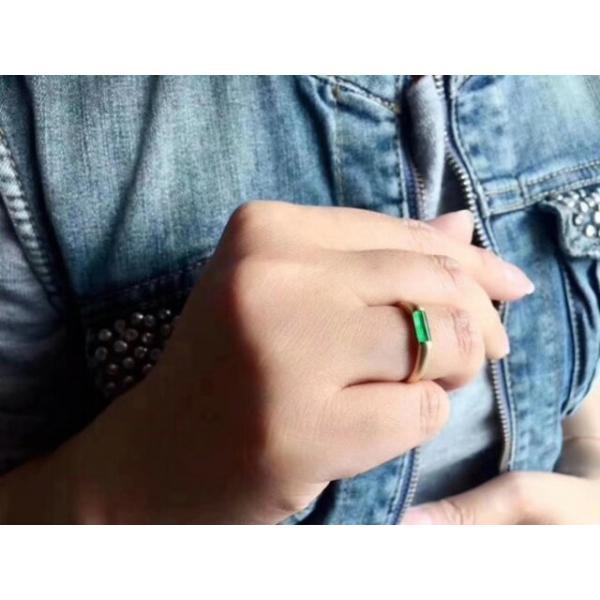 749 受注制作 18金ゴールド天然 A貨 馬鞍 コイン 翡翠 メンズ リング 指輪 ピンクゴールド ダイヤモンド ブレスレット ギフト お祝 お正月