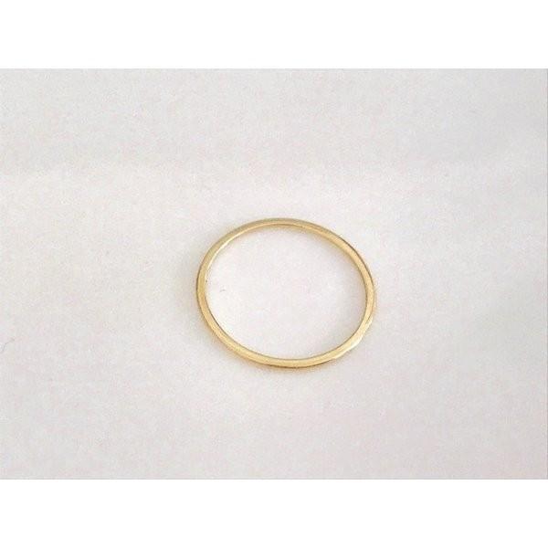 K10 リング 極細 10k 指輪  アクセサリー  k10 k18 k14天然石 925シルバー アレルギー対応 結婚式  No.153