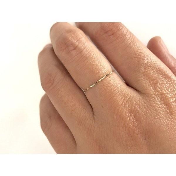 4112 K10 リング 極細0.65−0.9MM 特売セール 10k 指輪 14kgf 誕生石 指輪 天然石 七夕 夏祭り 花火着物 浴衣