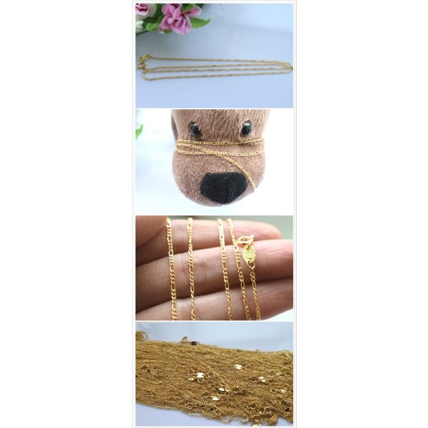 チェーン メダル ゴールドフィルド シンプル 18k レディース ネックレス アレルギー 入園式 卒園式 お花見 アレルギー対応 結婚式  No.258