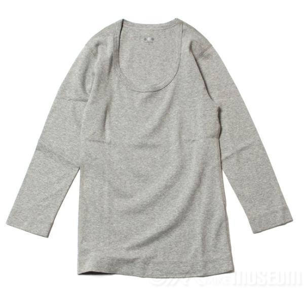 スリードッツ Three dots 7分袖 Uネック Tシャツ カットソー レディース ジェシカ AA4S041 mike-museum 02