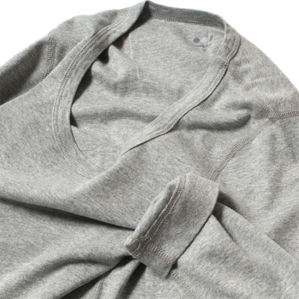 スリードッツ Three dots 7分袖 Uネック Tシャツ カットソー レディース ジェシカ AA4S041 mike-museum 04