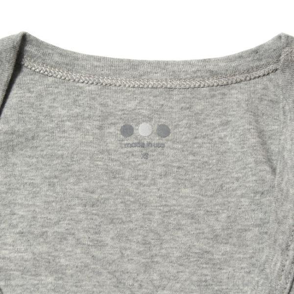 スリードッツ Three dots 7分袖 Uネック Tシャツ カットソー レディース ジェシカ AA4S041 mike-museum 05