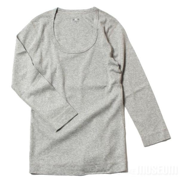 スリードッツ Three dots 7分袖 Uネック Tシャツ カットソー レディース ジェシカ AA4S041 mike-museum 06