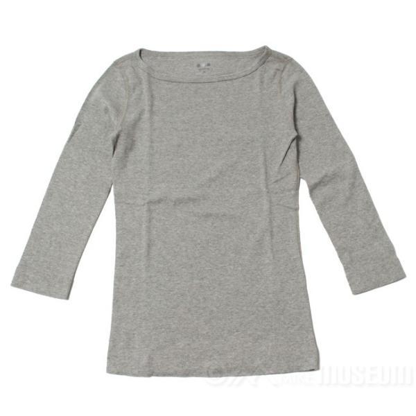 スリードッツ Three dots 7分袖 ボートネック Tシャツ カットソー レディース ジェシカ AA4W033|mike-museum|02