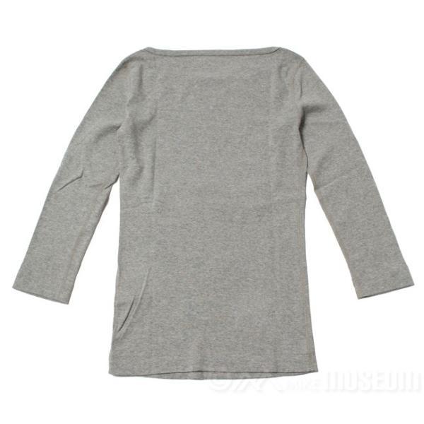 スリードッツ Three dots 7分袖 ボートネック Tシャツ カットソー レディース ジェシカ AA4W033|mike-museum|03