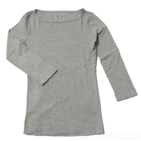 スリードッツ Three dots 7分袖 ボートネック Tシャツ カットソー レディース ジェシカ AA4W033|mike-museum|06