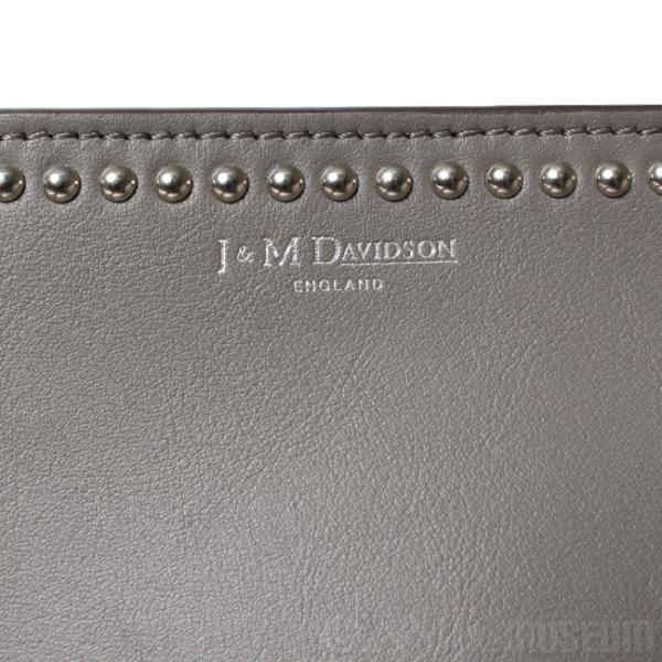 ジェイアンドエムデヴィッドソン J&M Davidson ショルダーバッグ ELLE WITH STUDS 1668N-7314 18-19FW 9300/DIM GREY