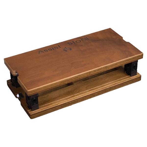ピアノアシストスツールASS-VWウォルナットピアノ補助台