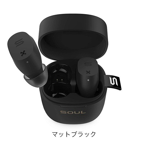 SOUL ワイヤレスイヤホン ST-XX Bluetooth5対応 最大2O時間 IPX5 オートペリング 国内正規輸入代理店商品 送料無料|mikigakki|03