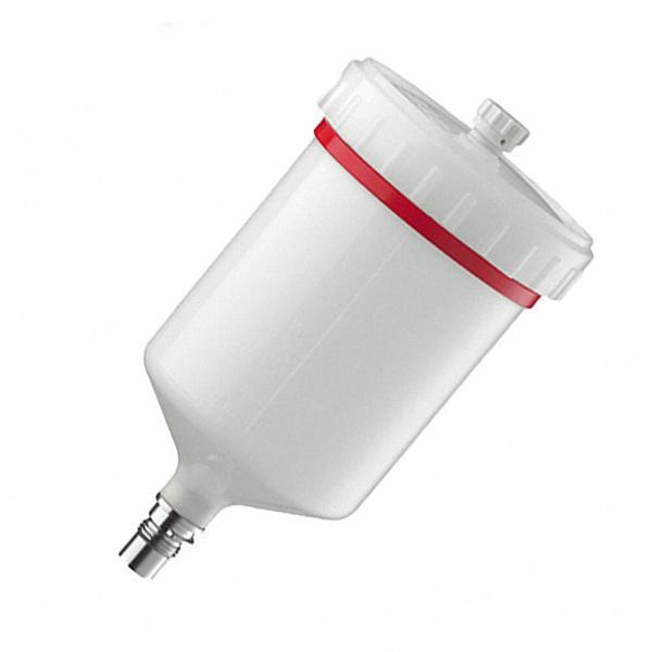 SATAスプレーガン塗料カップ27243 プラスチックカップQCC 600cc