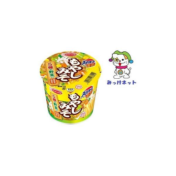 1箱(12個)まとめ買い 1個105円(税別)エースコックスーパーカップミニもやしみそラーメン51g12個セット