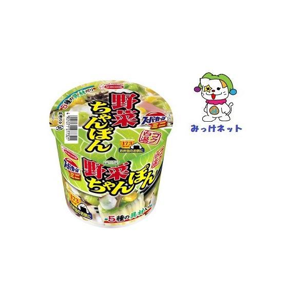 1箱(12個)まとめ買い 1個105円(税別)エースコックスーパーカップミニ野菜ちゃんぽん12個セット