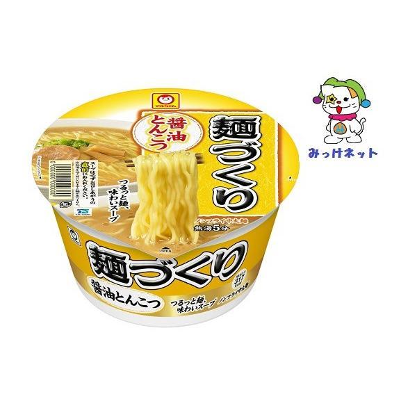 1個145円(税抜き)の1箱(12個)まとめ買い 東洋水産麺づくり醤油とんこつ89g1箱セット