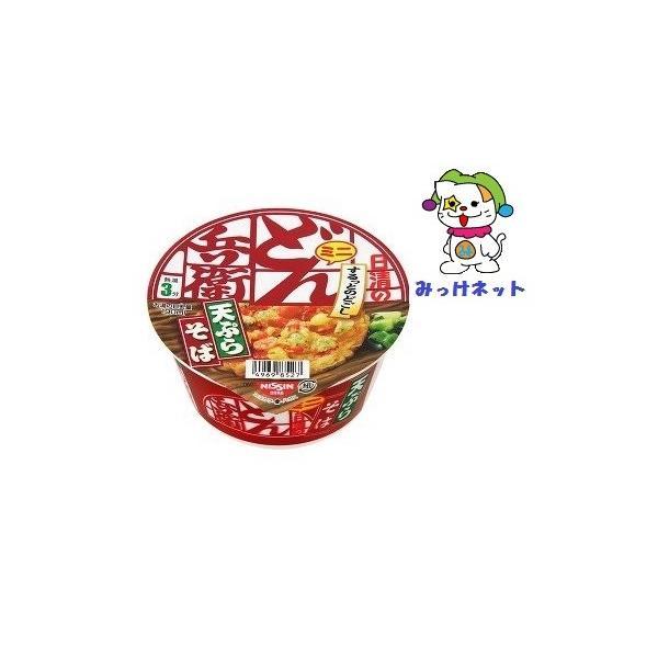 1箱(12個)まとめ買い 1個98円(税別)日清食品どん兵衛天ぷらそばミニ西12個セット(カップラーメン)